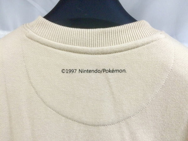 SPAO X Pokemon Crewneck Sweater - Snorlax Tan - Crewneck - Harumio