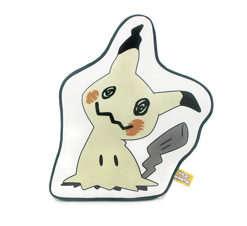 Pokemon - Character Print Cushion - Mimikyu