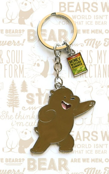 We Bare Bears - Metal  Keyring
