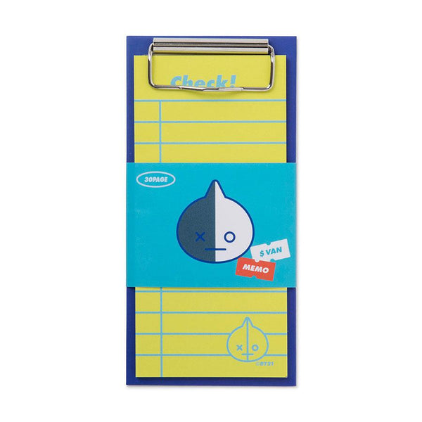 BT21 - Mini Clipboard & Checklist Set