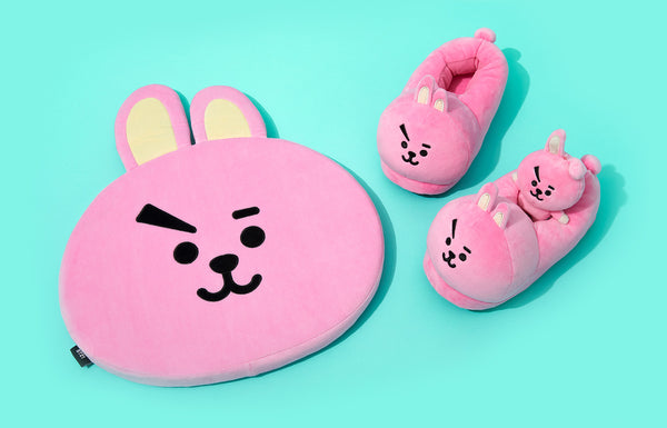 BT21 - Character Room Slippers - Cooky