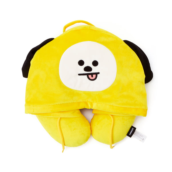 BT21 - Hoodie Neck Cushion - Chimmy