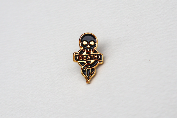 Pinawakens - Harry Potter Pins - Death-eating skeleton
