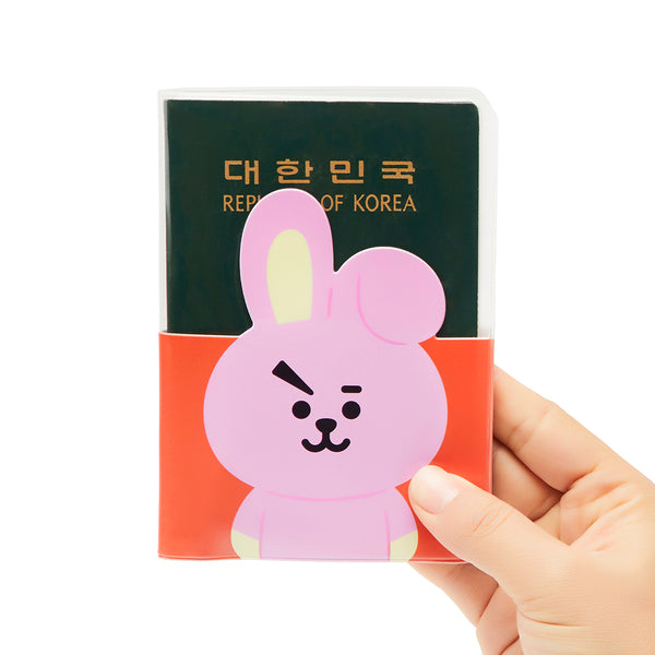 BT21 - Transparent Passport Case - Cooky