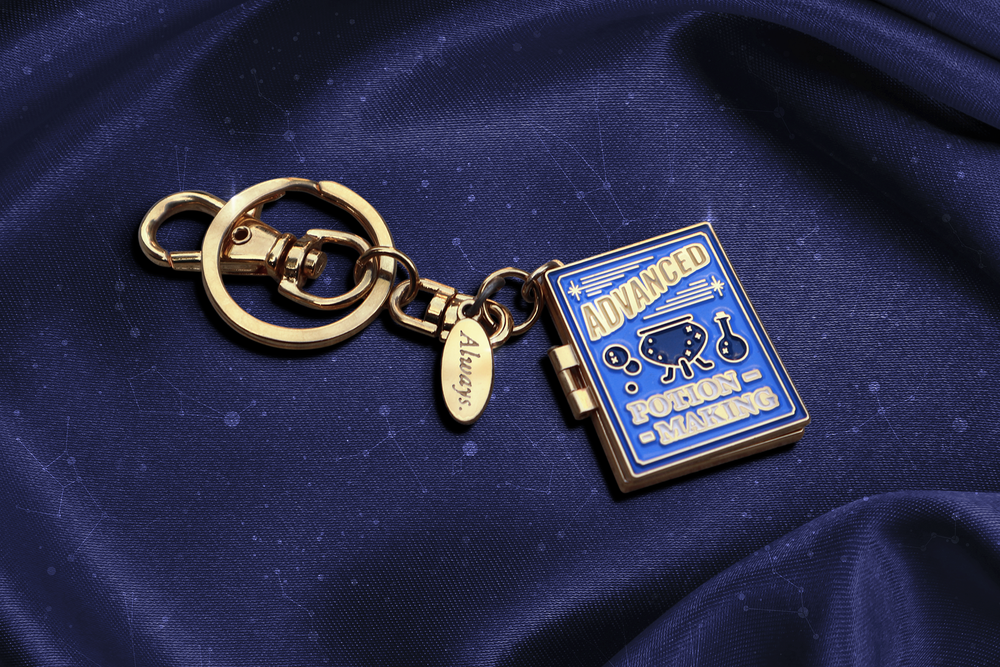 Pinawakens - Harry Potter Pins - Advance Potion Making Key Ring