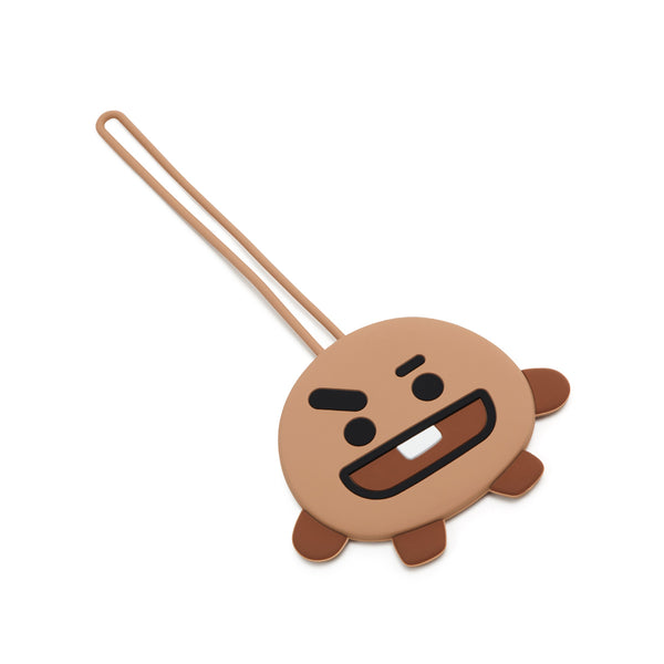 BT21 - Silicone Luggage Tag - Shooky