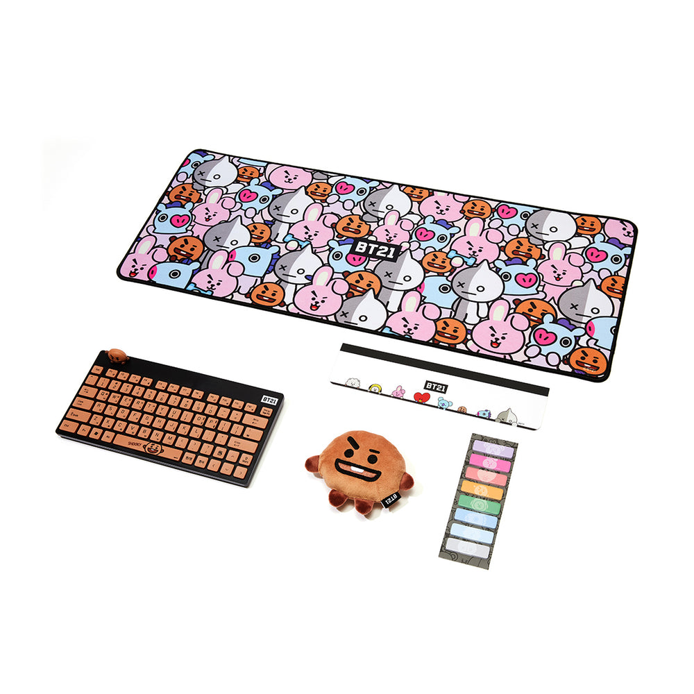 BT21 x Royche - Desk Accessory  Set - Shooky