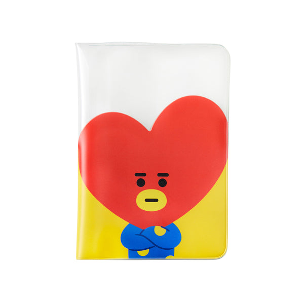 BT21 - Transparent Passport Case - Tata