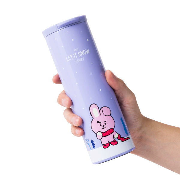 BT21 - Winter Stainless Steel Tumbler 460ml - Cooky