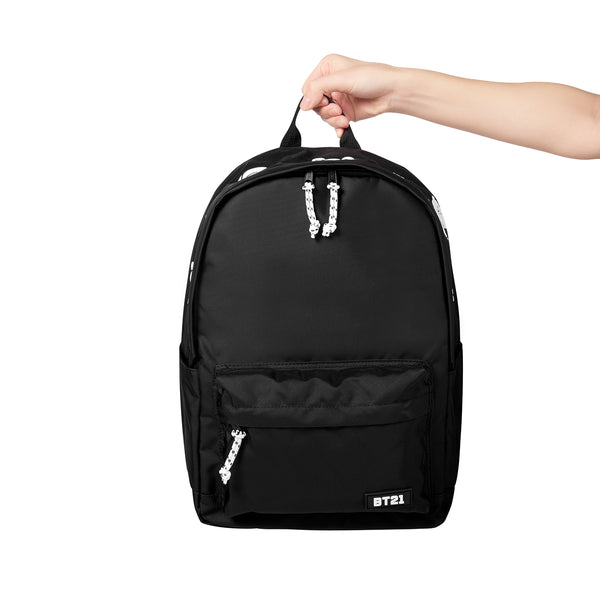 BT21 - Black Multi Backpack