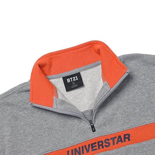 BT21 x Universtar Half-Zip Corporate Sweater - RJ