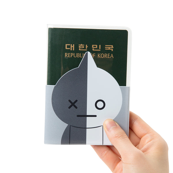 BT21 - Transparent Passport Case - Van