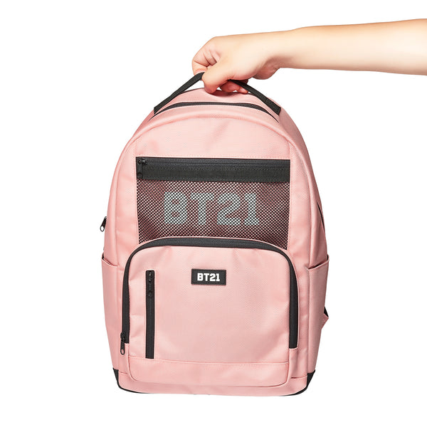 BT21 - Universtar Backpack - Pink - Backpack - Harumio