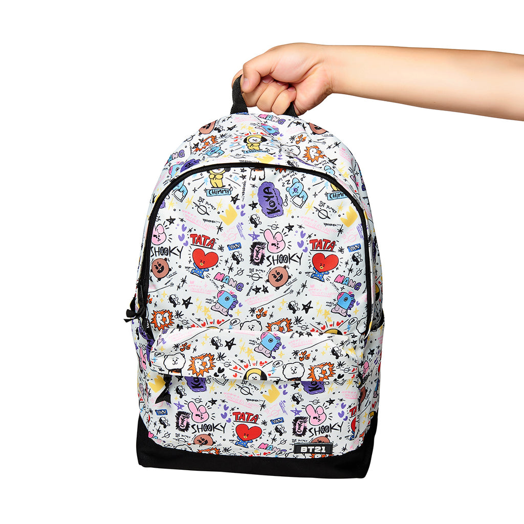 BT21 - Universtar Backpack - White - Backpack - Harumio