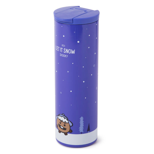 BT21 - Winter Stainless Steel Tumbler 460ml - Shooky