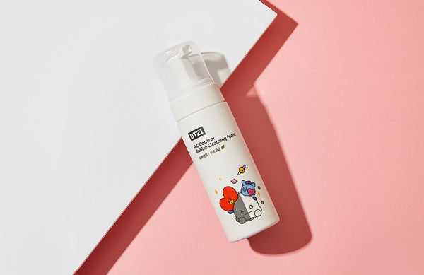 BT21 x TN - AC Control Bubble Cleansing Foam