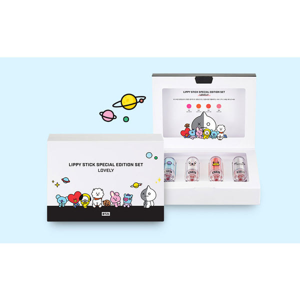 BT21 x VT - Lippy Stick Special Edition Set - Lovely
