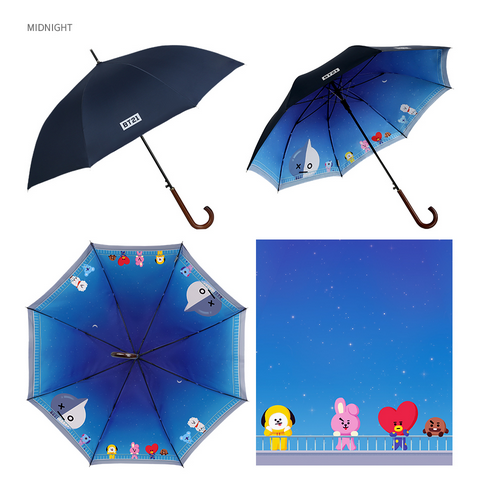 BT21 x Monopoly - Double Layer Automatic Long Umbrella