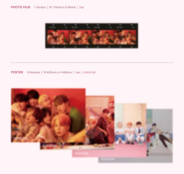 BTS - Map of the Soul: Persona CD Album