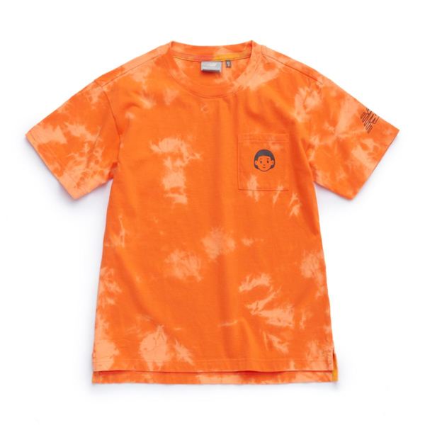 New Balance x Noritake - Pocket Girl T-shirt - Orange Dye
