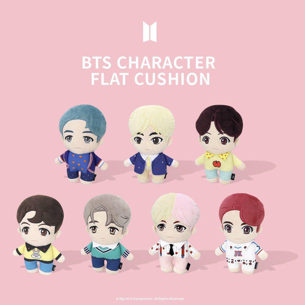 BTS Pop-up Store - House of BTS - Character Flat Cushion
