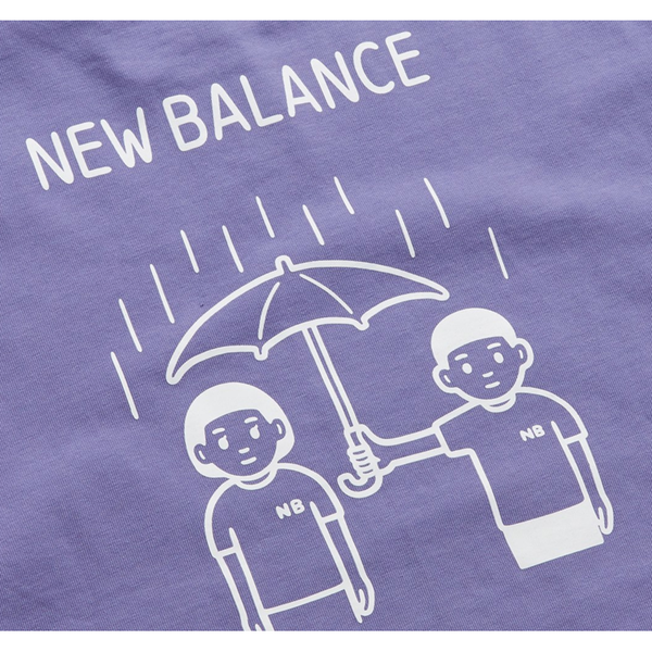 New Balance x Noritake - Rainy T-shirt - Purple