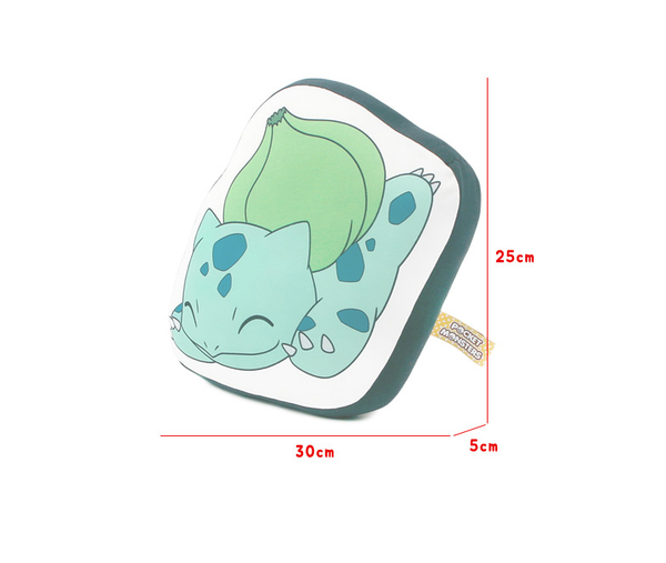 Pokemon - Character Print Cushion - Bulbasaur