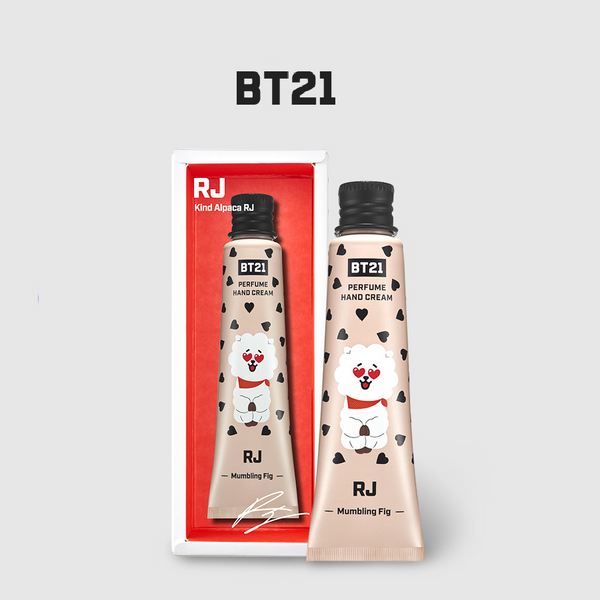 Olive Young x BT21 - Perfume Hand Cream - Dirt Sludge Fig - RJ