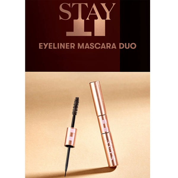 VT x BTS - Stay It Eyeliner Mascara Duo