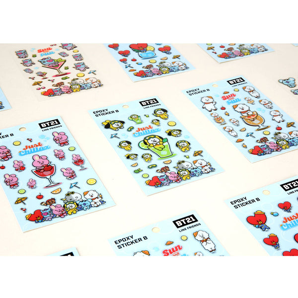 BT21 x Monopoly - Epoxy Sticker - Design B