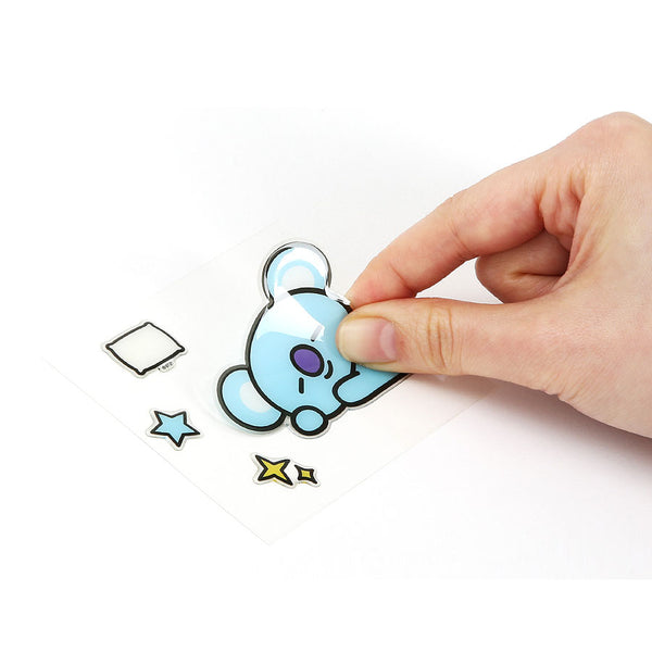 BT21 x Monopoly - Epoxy Sticker - Design E