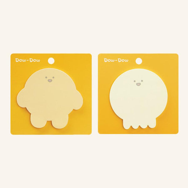 Dow-Dow and Mow-Mow Sticky Note Pad