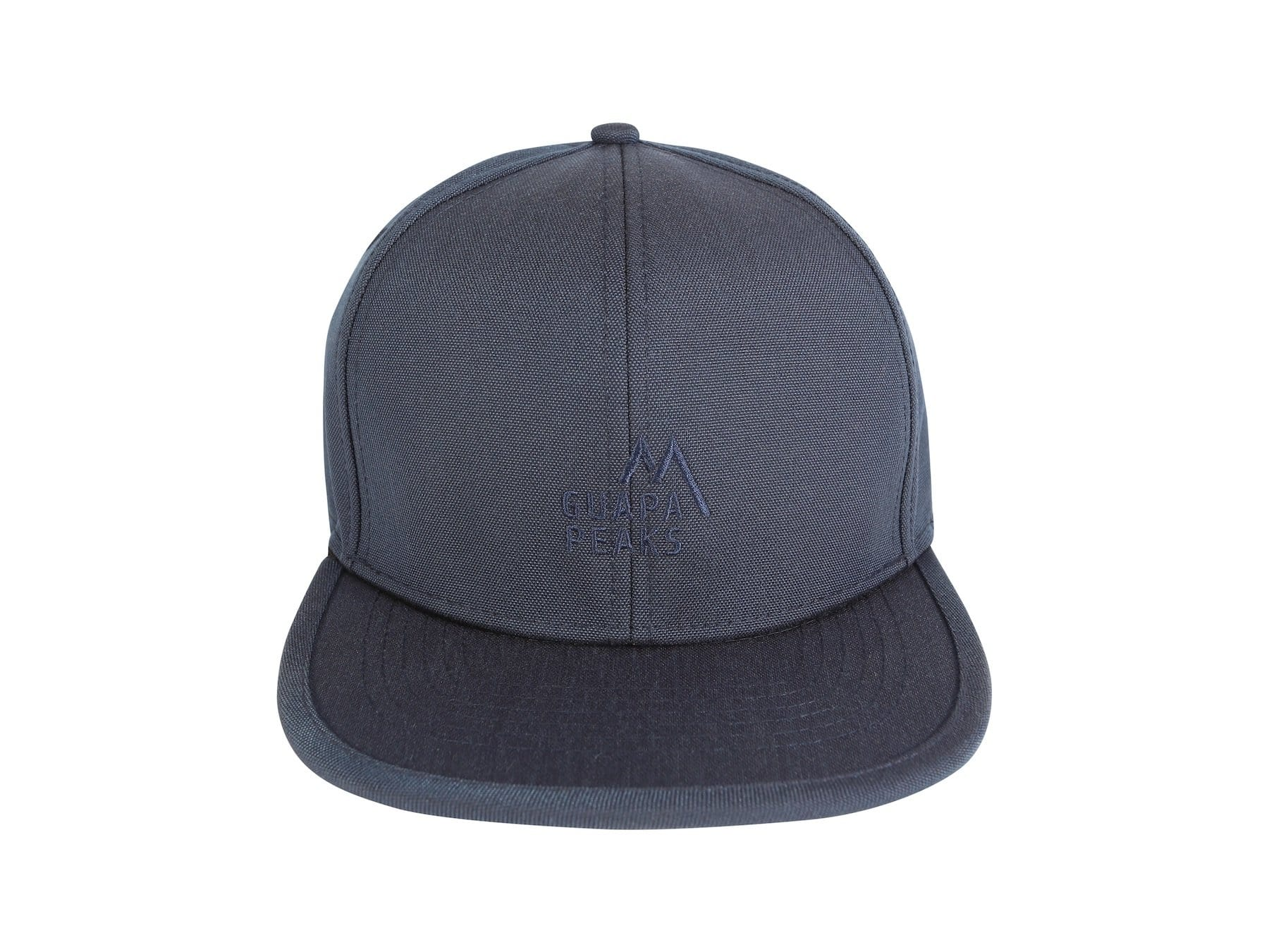 Navy 6 Panel Cap Set | Walnut Wood + Free Fabric Visor
