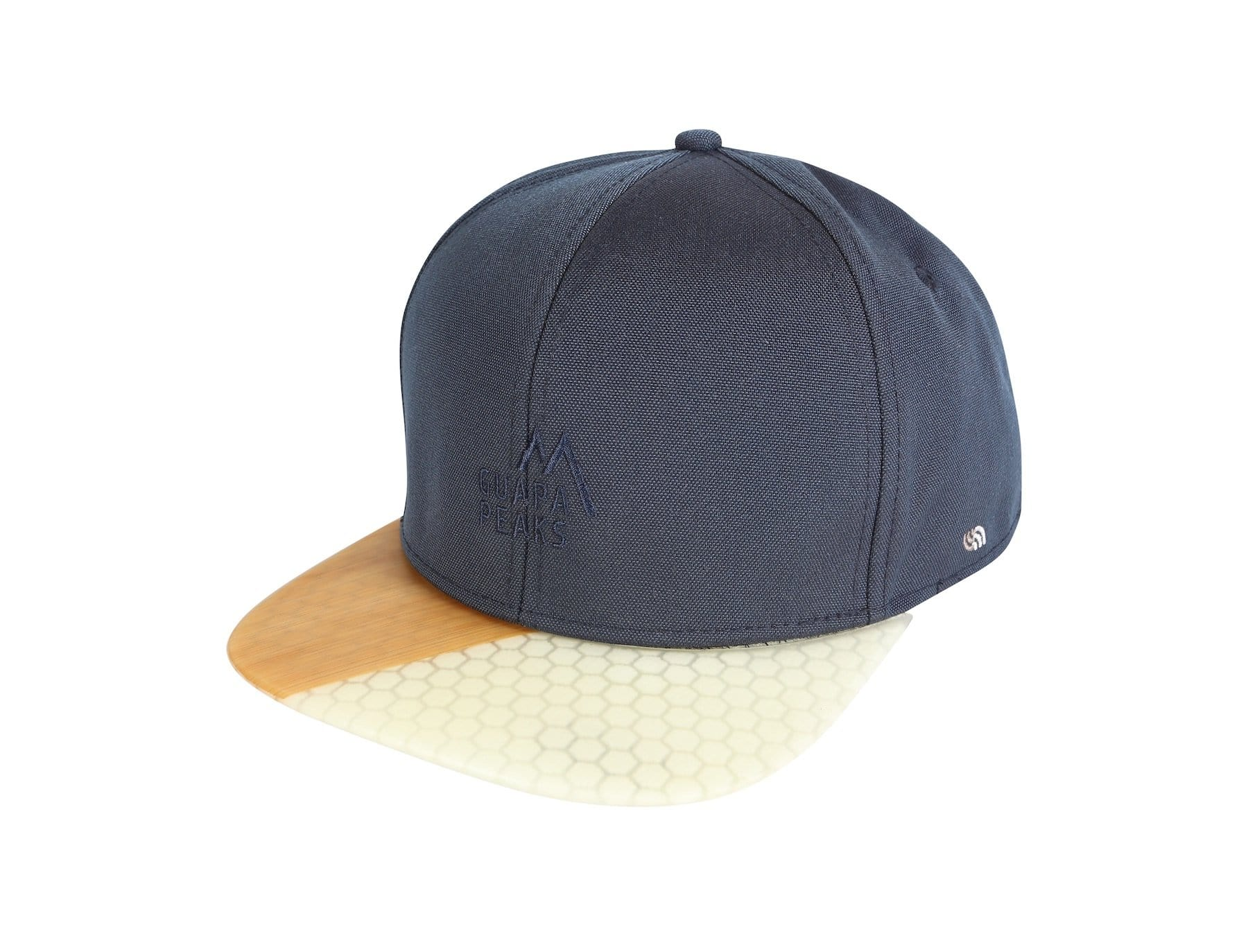 Navy 6 Panel Cap Set | Bamboo Surf + Free Fabric Visor