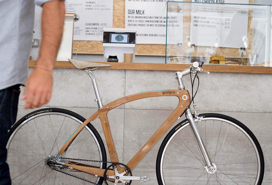 New*Urban One | Single Speed | Bamboo & Flax Composite Bike