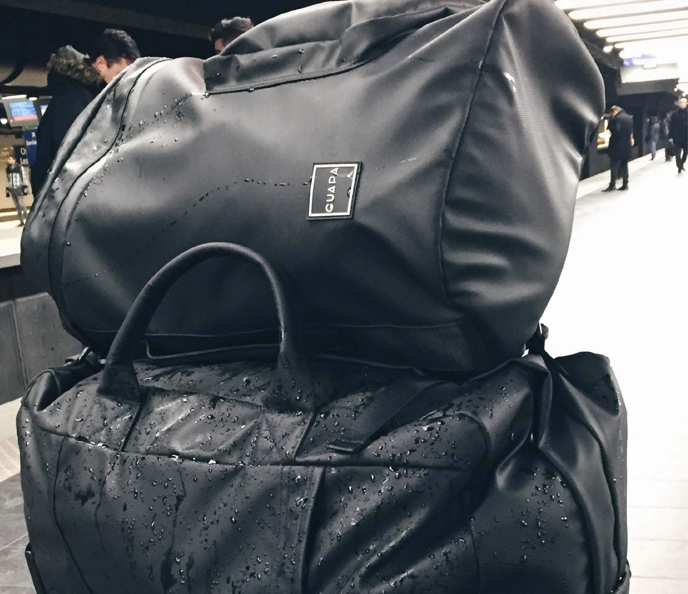 Water-Resistant 26 Litre Black Backpack