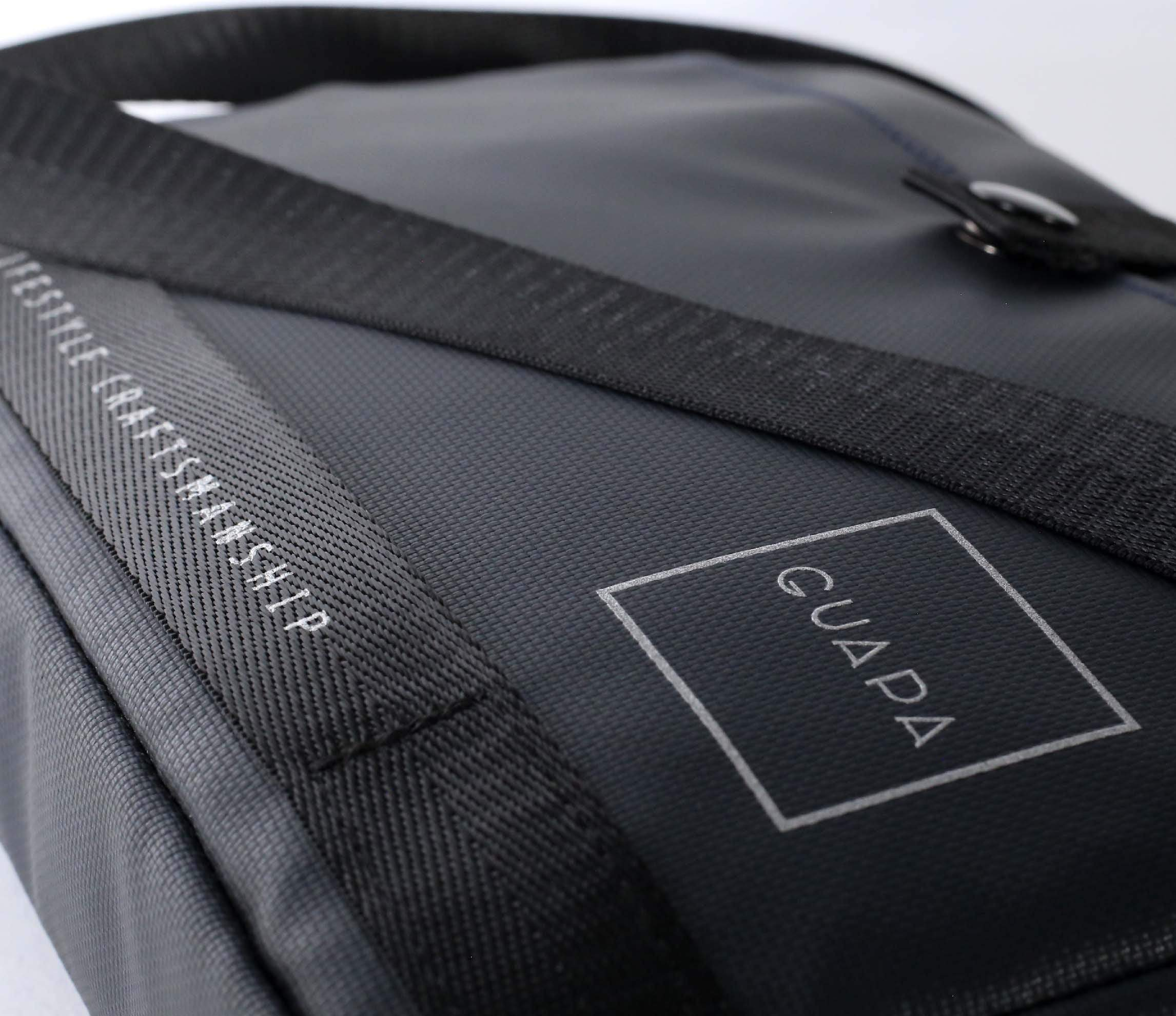 Polycarbon Shoulder Bag | Fits iPad