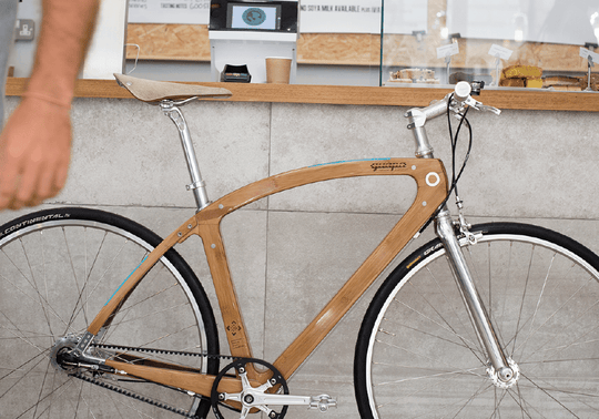 Urban One | Single Speed | Bamboo & Flax Composite Bike
