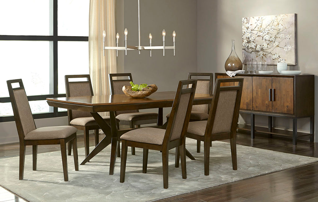 najarian furniture company adriana rectangle dining set