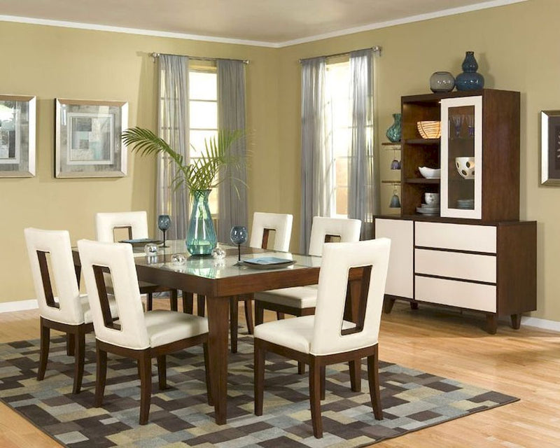 Najarian Furniture Company Enzo Dining Set Contemporary Cherry