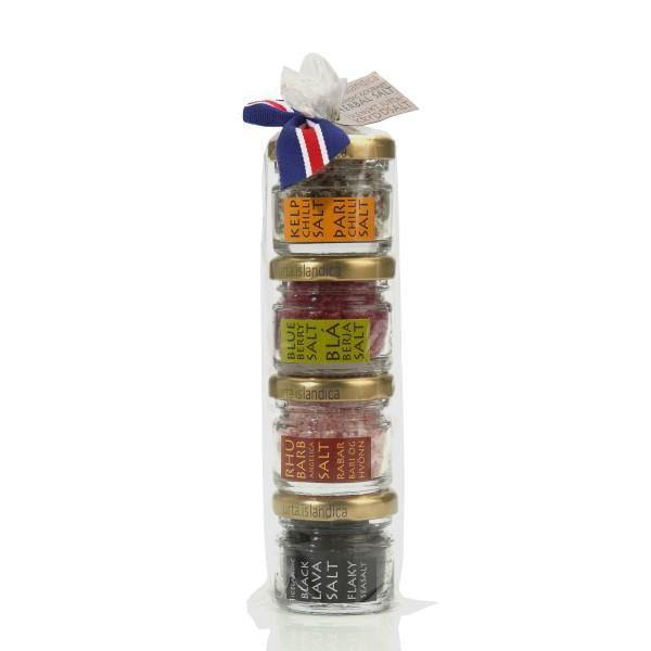 4 Salts Variety Gift Pack Salt - Including Black Lava
