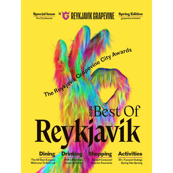Triple Offer: Best Of Reykjavík 2020 & Best Of Iceland 2019 + for free new issue of Reykjavík Grapevine