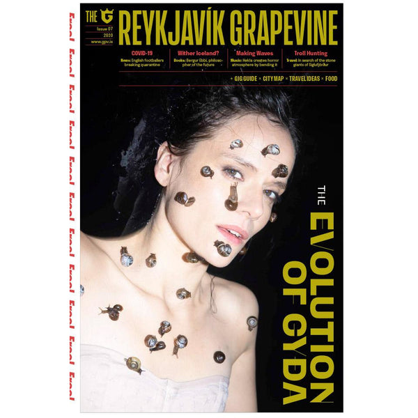 New Reykjavík Grapevine Issue (Gyða) + Last Issue With It