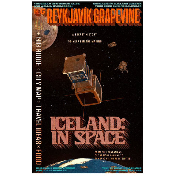 New Reykjavík Grapevine Issue - Iceland in Space + Last Issue With It