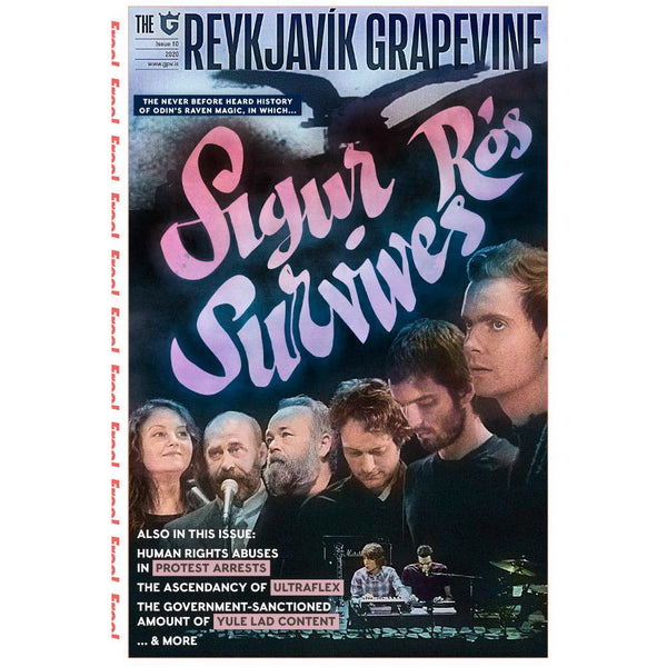 New Reykjavík Grapevine Issue (Sigur Rós) + Last Issue With It