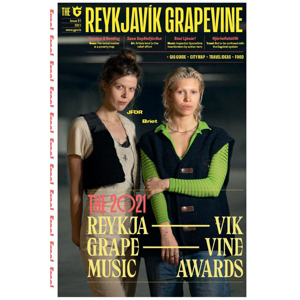 New Reykjavík Grapevine Issue (Music Awards, JFDR+Bríet) + Last Issue With It (Sigur Rós)
