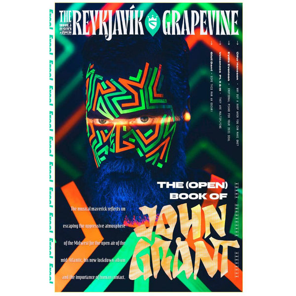 New Reykjavík Grapevine Issue (John Grant) + Last Issue With It (Volcano)