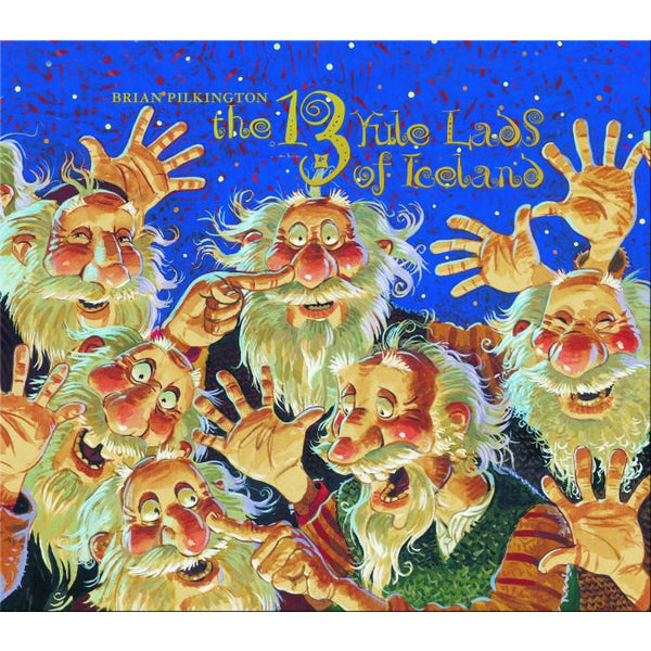 The 13 Yule Lads of Iceland - by Brian Pilkington
