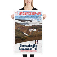 Discovering the Laugavegur Trail Poster