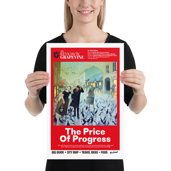 The Price Of Progress Poster